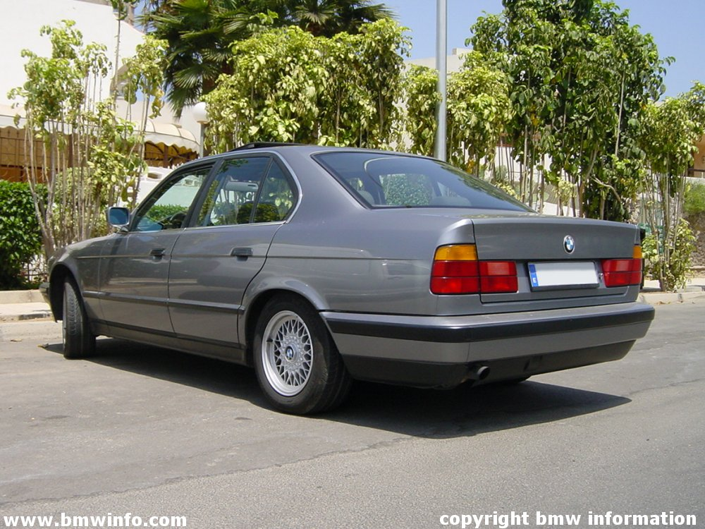 Information About Amazing Bmw Bmw E34 5 Series
