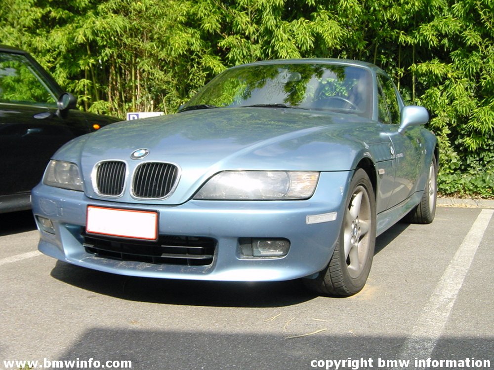 z3 bmw. BMW Z3 Roadster with Hardtop