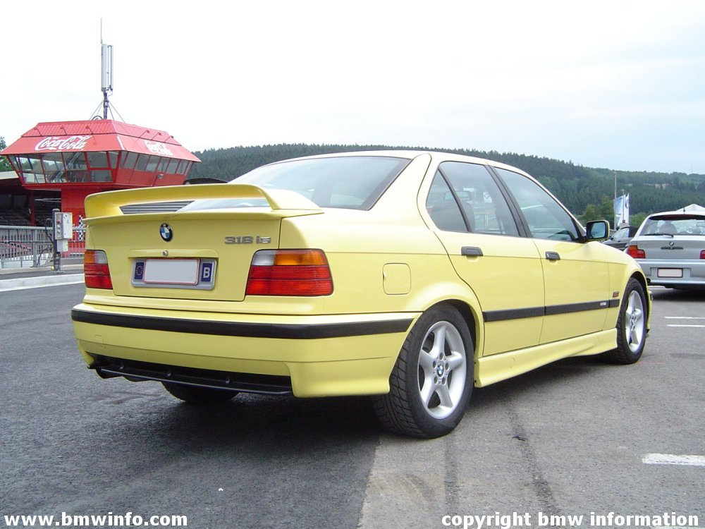 E36 318is class ii limited edition specification