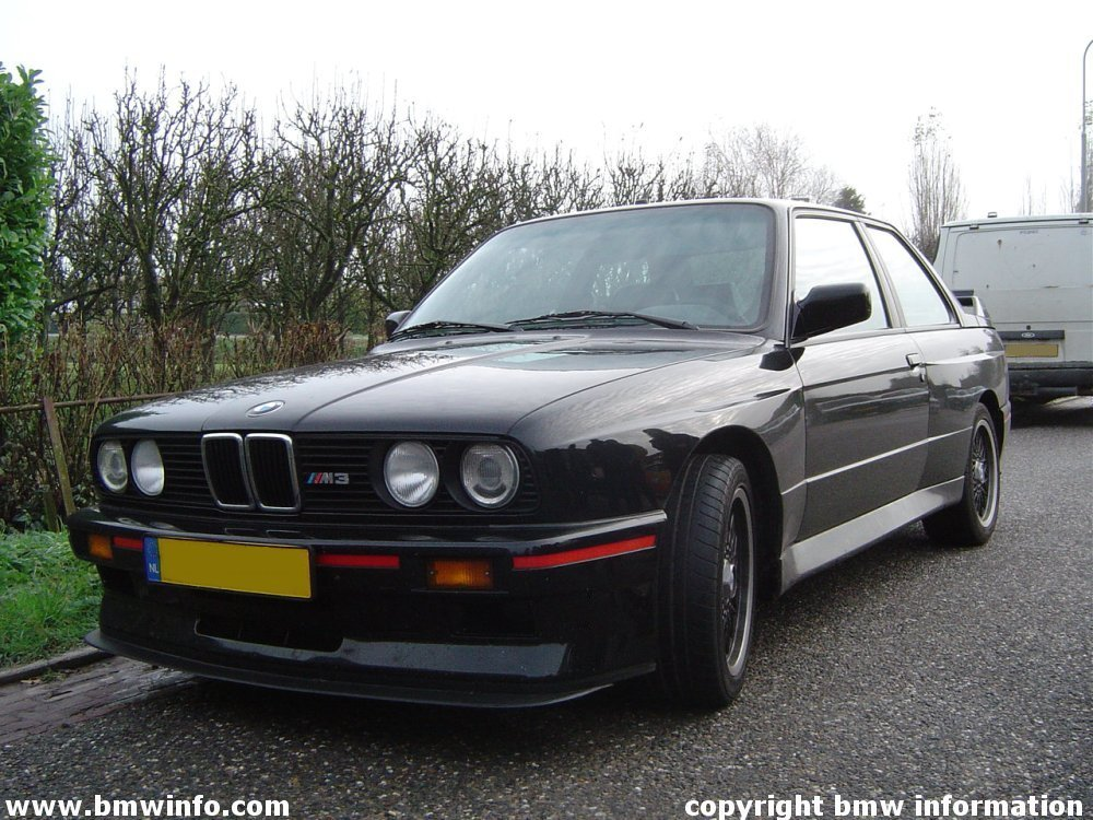 Bmw E30 M3 >> BMW Information